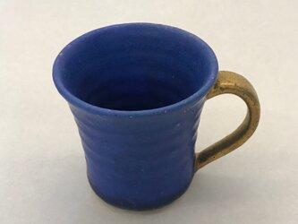 トルコ青マットマグカップの画像