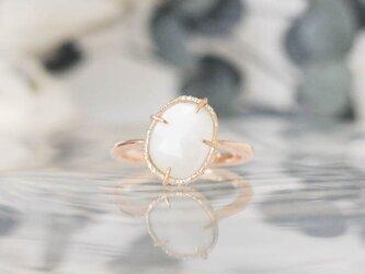 baras ring ムーンストーン【FR173】の画像