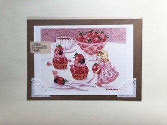 いちご国のお姫様pink ポスターno.168の画像