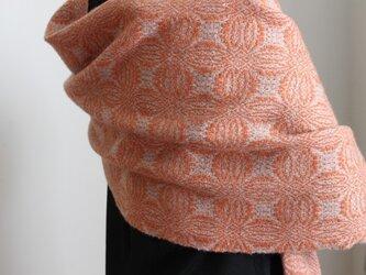 カシミヤとウールの手織り<灯しび>の画像