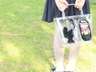 クララとくるみ割り人形のクリアバッグの画像