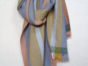 手織りストール ~wool~の画像