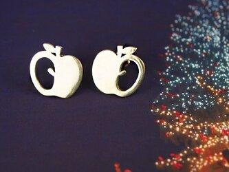 りんごピアスの画像