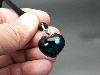 ハーツオブグラス ブラックパープルクリア pd18102602の画像