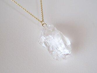 クリスタルの原石ネックレス rock ice series 14kgfの画像