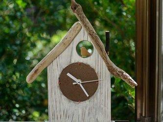 【送料無料】とりっこハウス壁掛け時計、置き時計-5の画像