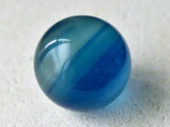 ブルーフローライト ミニスフィア(丸玉) Sweet Blue 中国・浙江省産 18.7g/ ルース・ヒーリングの画像