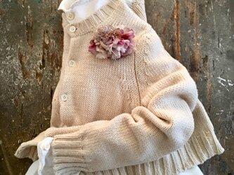 芍薬。。。suMire-bouquet 布花コサージュの画像