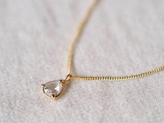 Drop Rose Diamond Necklaceの画像