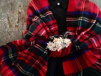 まーがれっと棒。。。suMire-bouquet 布花コサージュの画像