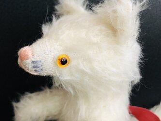シャトン・クリーム 子猫のぬいぐるみ ギフト バースデーギフト ねこ シロネコの画像