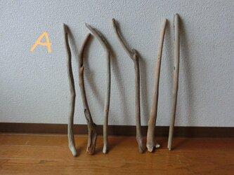 drift wood素材(45~55cm 6・8本セット)インテリアなどに人気です!の画像