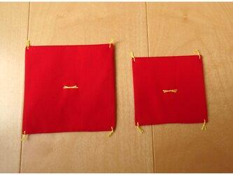 オプション 赤座布団の画像