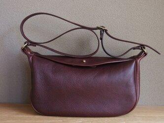 975c94318578 flap shoulder bag small cacao - フラップショルダーバッグ小(カカオ)
