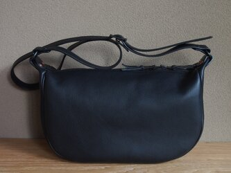 fastener shoulder bag nero - ファスナーショルダーバッグ(ネロ)の画像