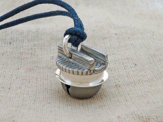 鈴『羽釜』銀製(シルバー925)の画像