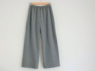 綿ニット/パンツの画像