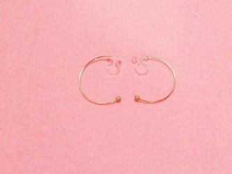 輪 ノンホールピアスゴールドフイルドの画像