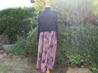 銘仙ギャザースカート S~Mの画像
