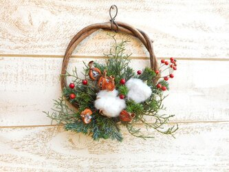 Mini wreath Dの画像