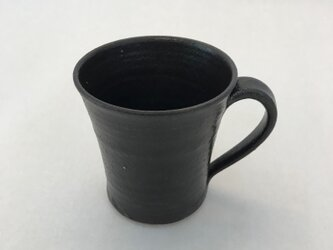 黒マットマグカップの画像