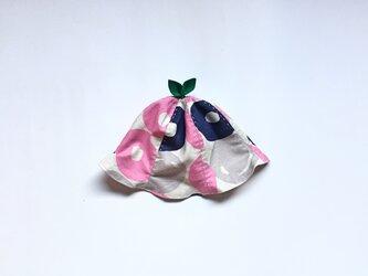 ぐんぐん大きくなあれ!葉っぱハット キャンディ ピンクの画像