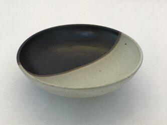 白黒マットとり鉢の画像
