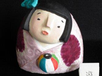 遊 童女 人形の画像