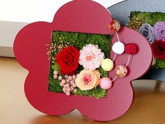 玄関先に飾るお正月飾り 梅の画像