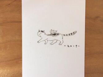 絵葉書/ポストカード <お年賀・うりぼー>の画像
