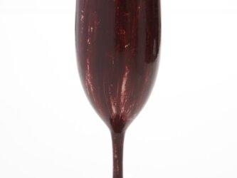 潤漆砥出シャンパングラスの画像