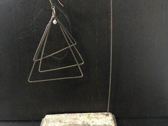 焼締カードホルダー&ツリーの画像