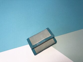 【SALE 送料無料】5連キーケースSMQターコイズシルバー金具の画像