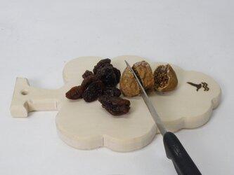 ミニカッティングボード 葡萄の画像