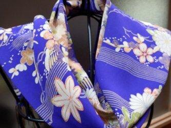 正絹のおしゃれマフラー (1)の画像