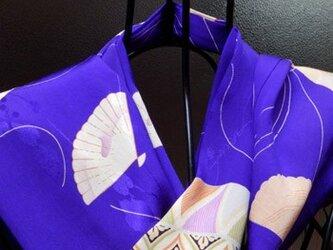 正絹のおしゃれマフラー (5)の画像