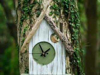 【送料無料】とりっこハウス壁掛け時計、置き時計-8の画像