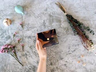 エル ヴァケーロ_ブラウン◆外装◆こども財布◆三つ折りの画像