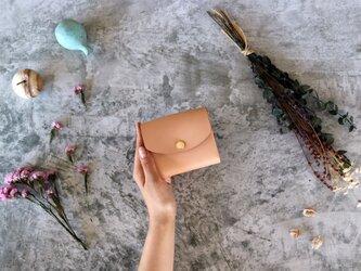 クラシコ(栃木レザー)_ベージュ◆外装◆こども財布◆三つ折りの画像