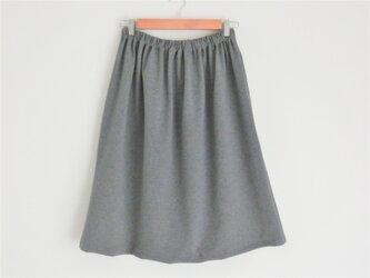 綿ニット/スカートの画像