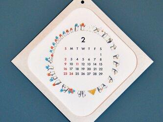 2019年 ペンギンの暮らしカレンダー(新祝日対応)の画像