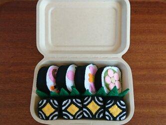 おままごと・セット【飾り寿司弁当】の画像