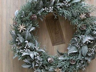 クリスマスリース(1118)~Santa's Magic Key(R)~ 34cmの画像