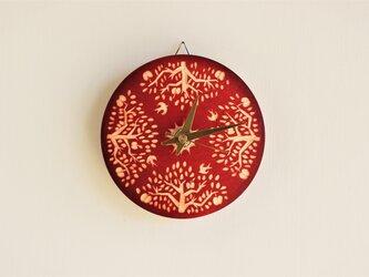《草木染め》時計 あかね染め:Appletreeの画像