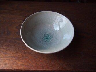 りんご釉平茶碗  15の画像