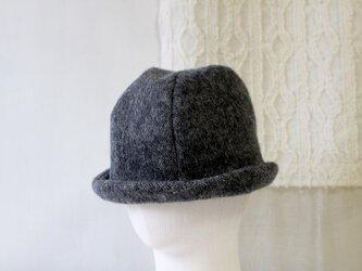 HELMA HAT | HINADORI WOOL GRAY【M】の画像