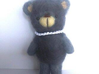 ふわっとしたクマさんの画像