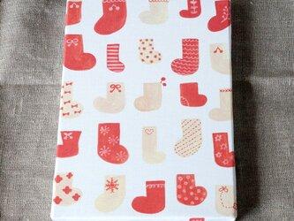 winter socks ファブリックパネルの画像