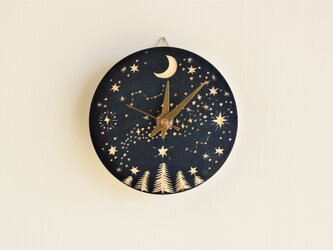 《草木染め》時計 藍染め:Milkywayの画像