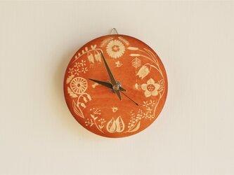 《草木染め》時計 たまねぎ染め:Botanicalの画像